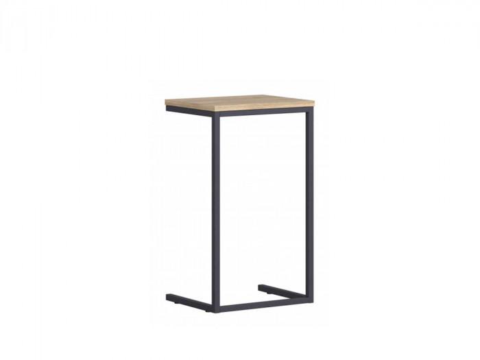 Table d'appoint LINKO Chêne / graphite