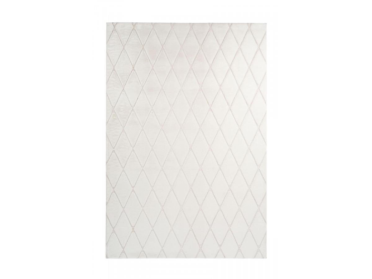 Tapis BETA Blanc / Crème 80cm x 250cm
