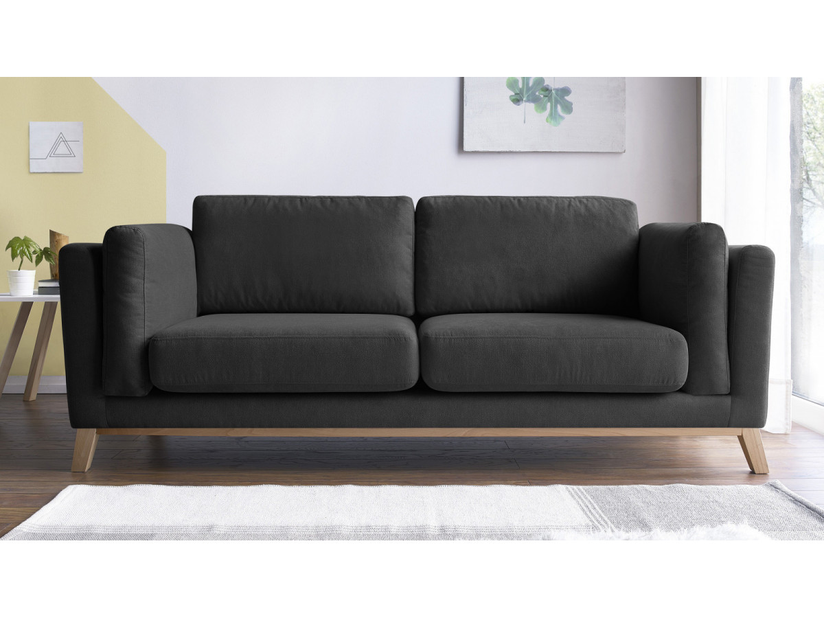 Canapé droit fixe SEATTLE