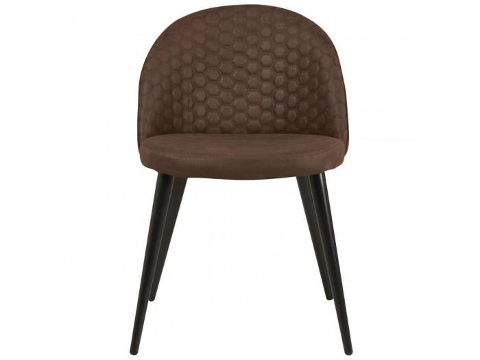 Lots de 4 chaises de séjour en tissu SAMUEL