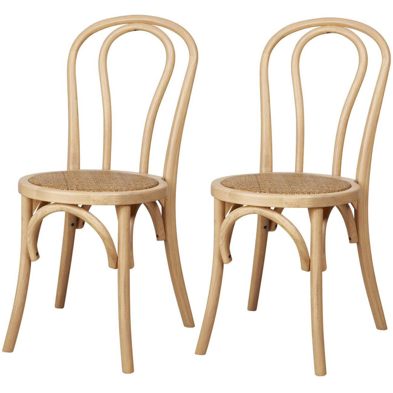 Lot de 2 chaises MONTMARTRE