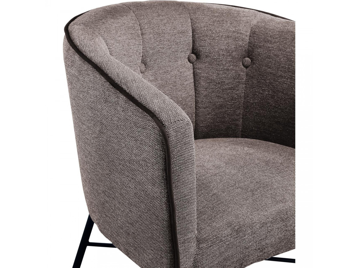 Fauteuil WEXFORD gris anthracite