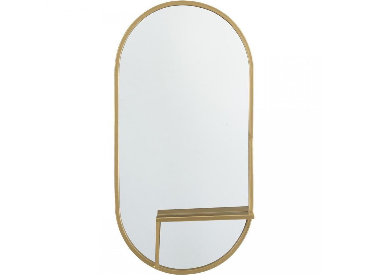 Miroir ovale Dublin1
