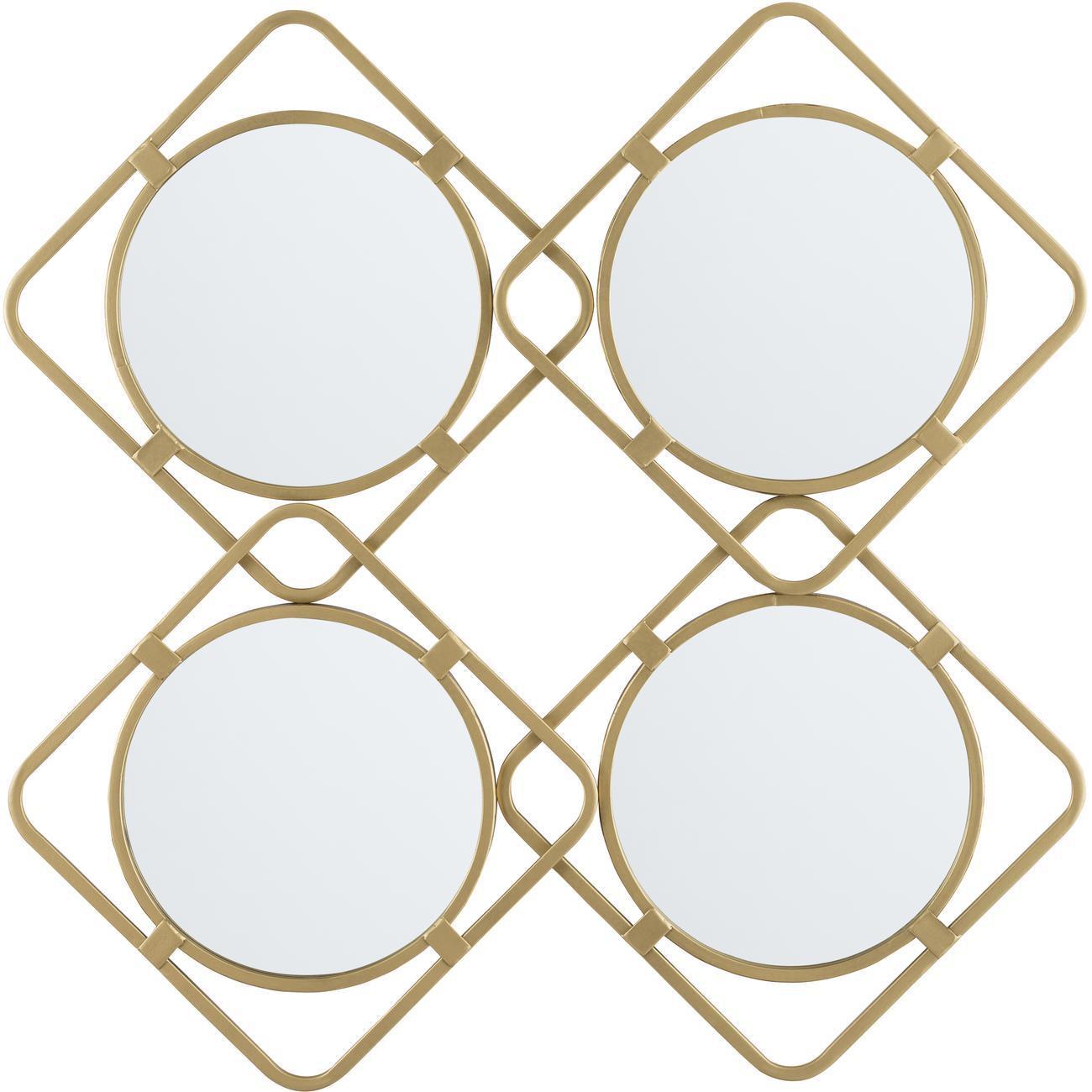 Miroir en losange Swords1