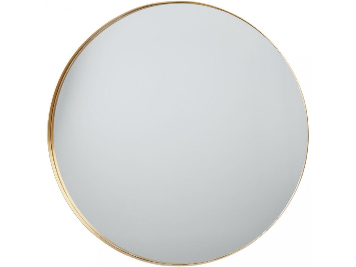 Miroir et tendance de forme ronde en aluminium Graz3