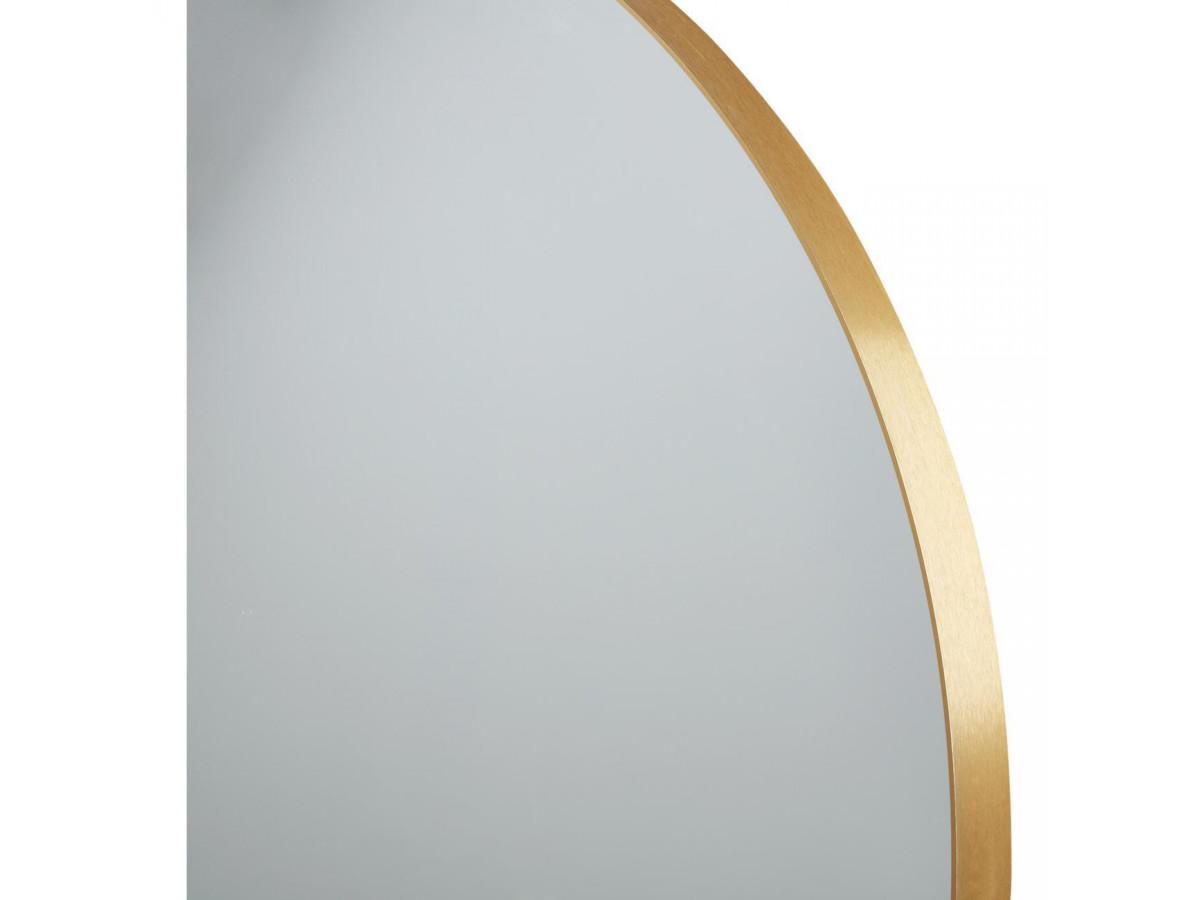 Miroir et tendance de forme ronde en aluminium Graz4