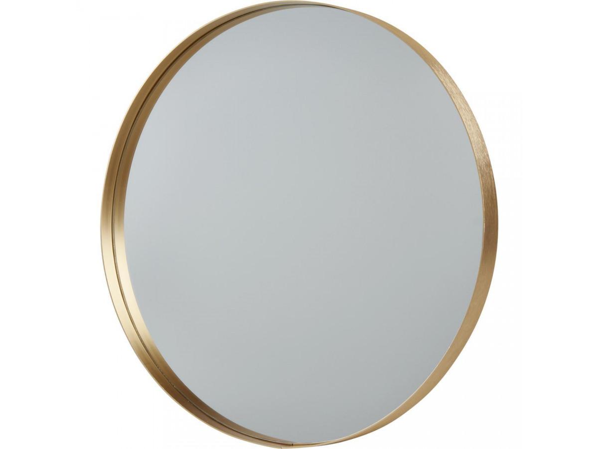 Miroir rond MELK en aluminium