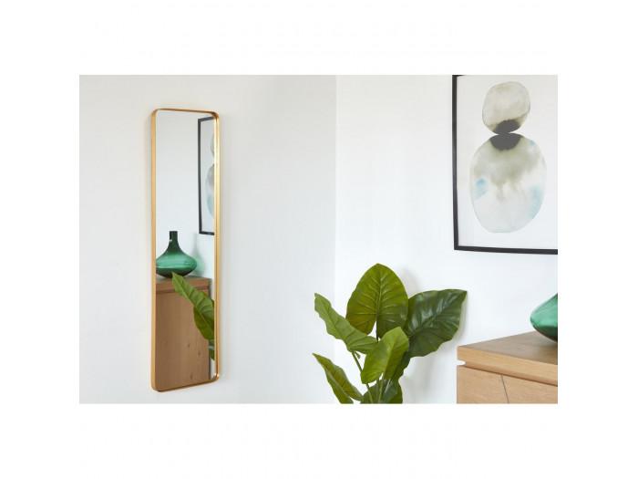 Miroir et tendance de forme rectangulairee en aluminium Stern2