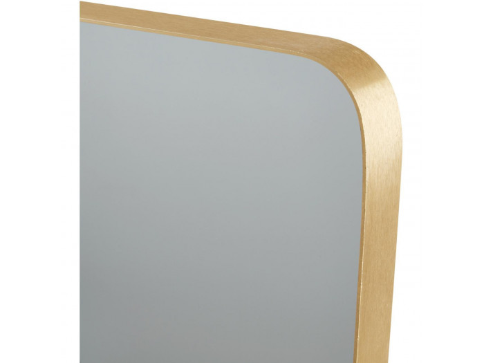 Miroir et tendance de forme rectangulairee en aluminium Coco4