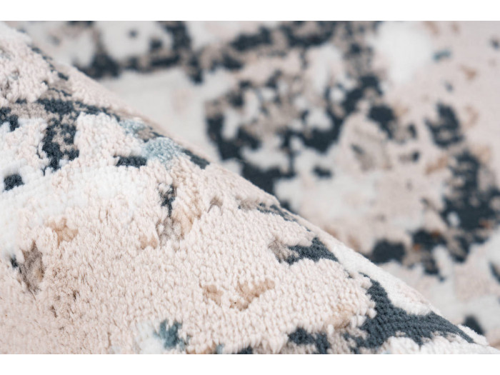 Tapis ARROW Gris / Bleu 120cm x 180cm4