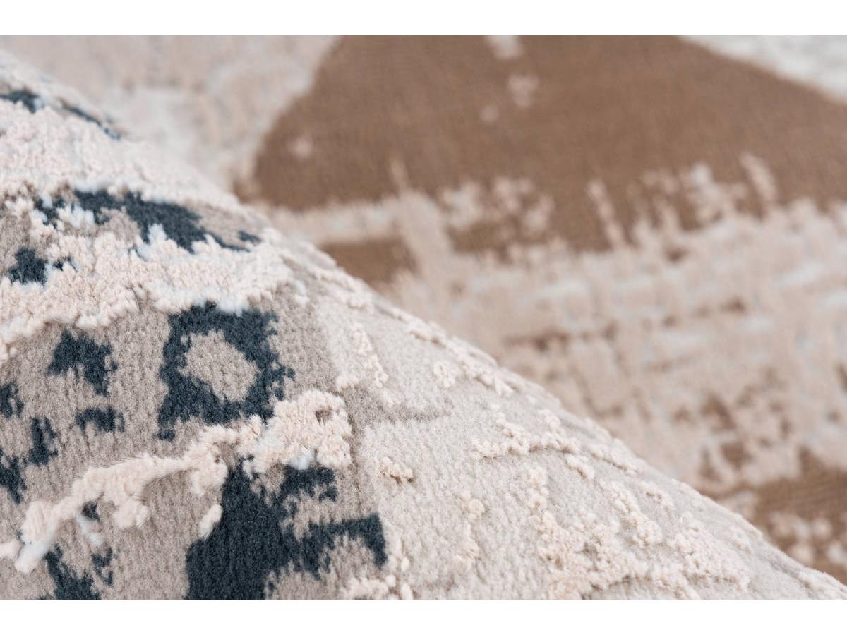 Tapis LORI Gris / Bleu 120cm x 180cm4