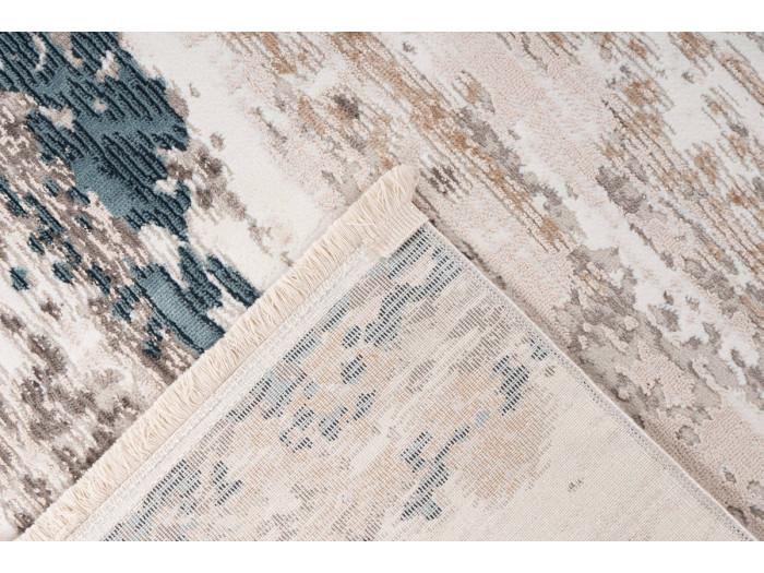 Tapis TORI Gris / Bleu 160cm x 230cm5