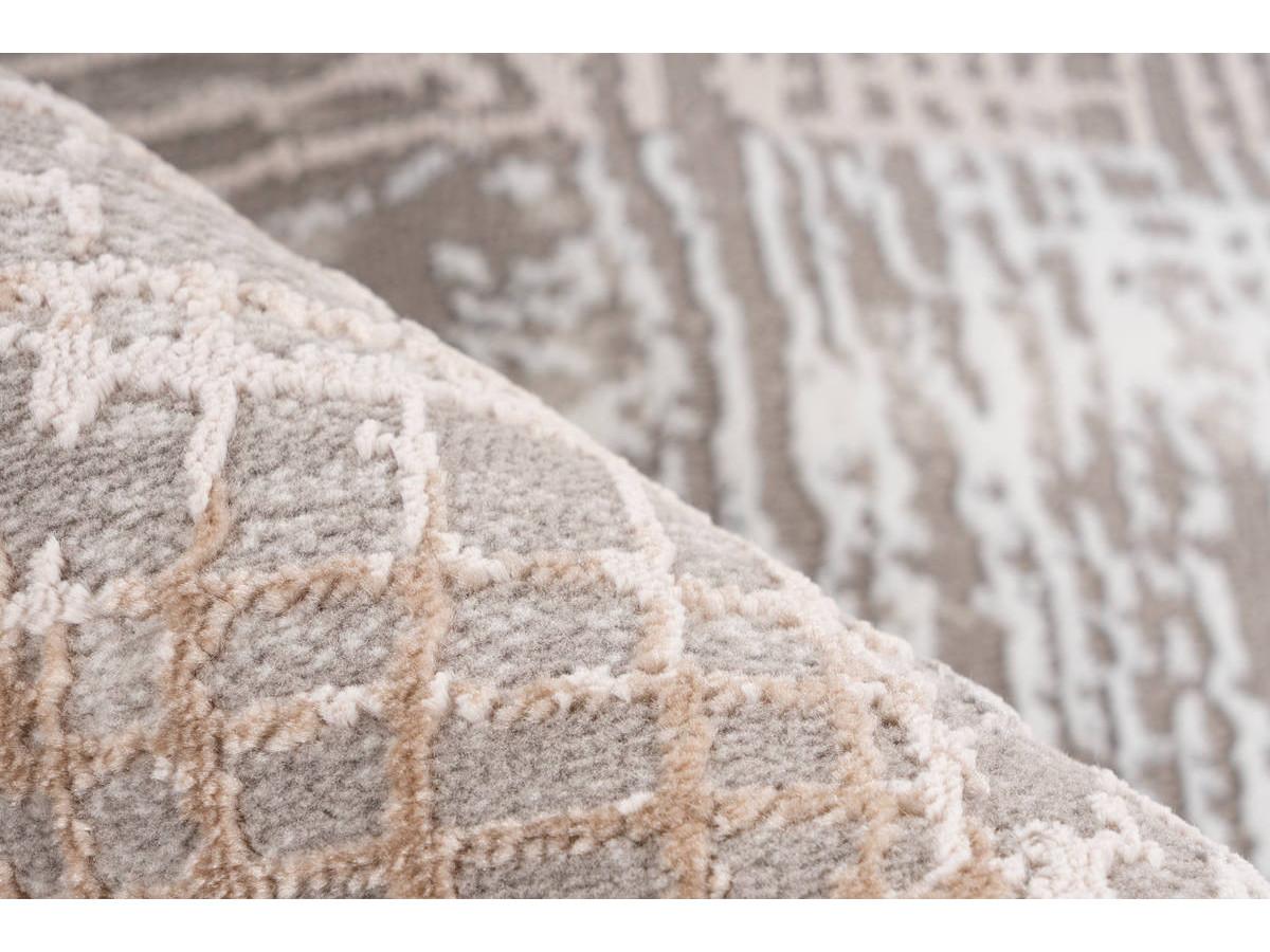 Tapis ZINEB Gris / Argenté 160cm x 230cm4