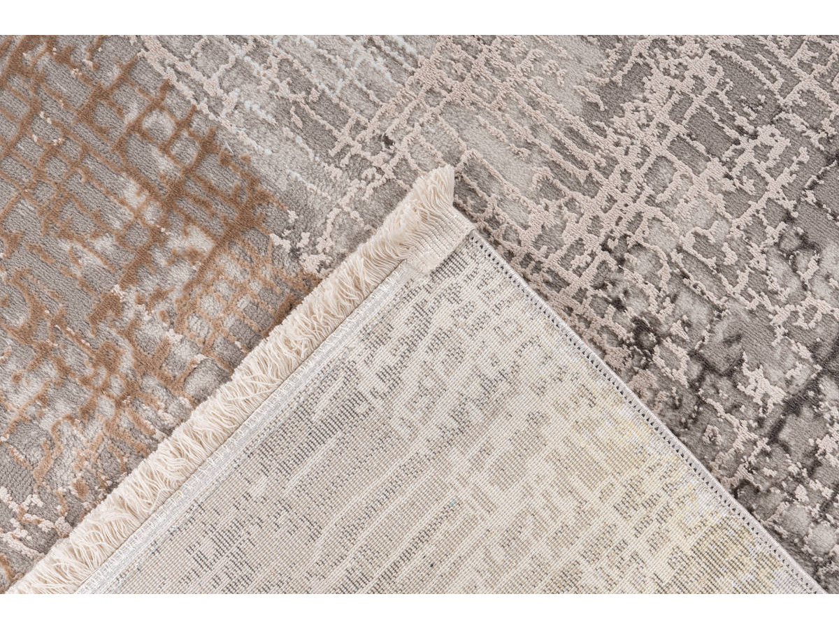 Tapis ZINEB Gris / Argenté 160cm x 230cm5