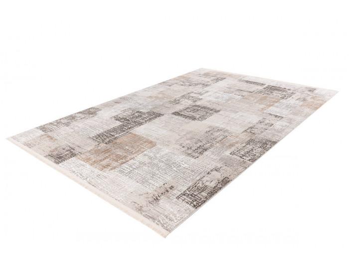 Tapis ZINEB Gris / Argenté 80cm x 150cm