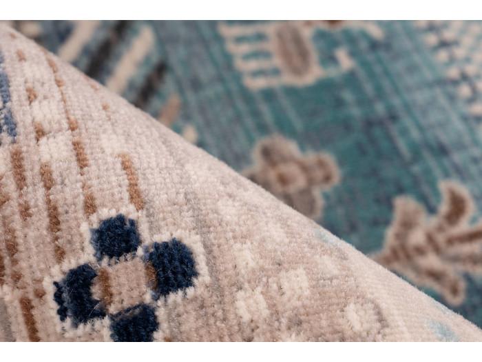 Tapis VIKI Marron / Bleu 200cm x 290cm4