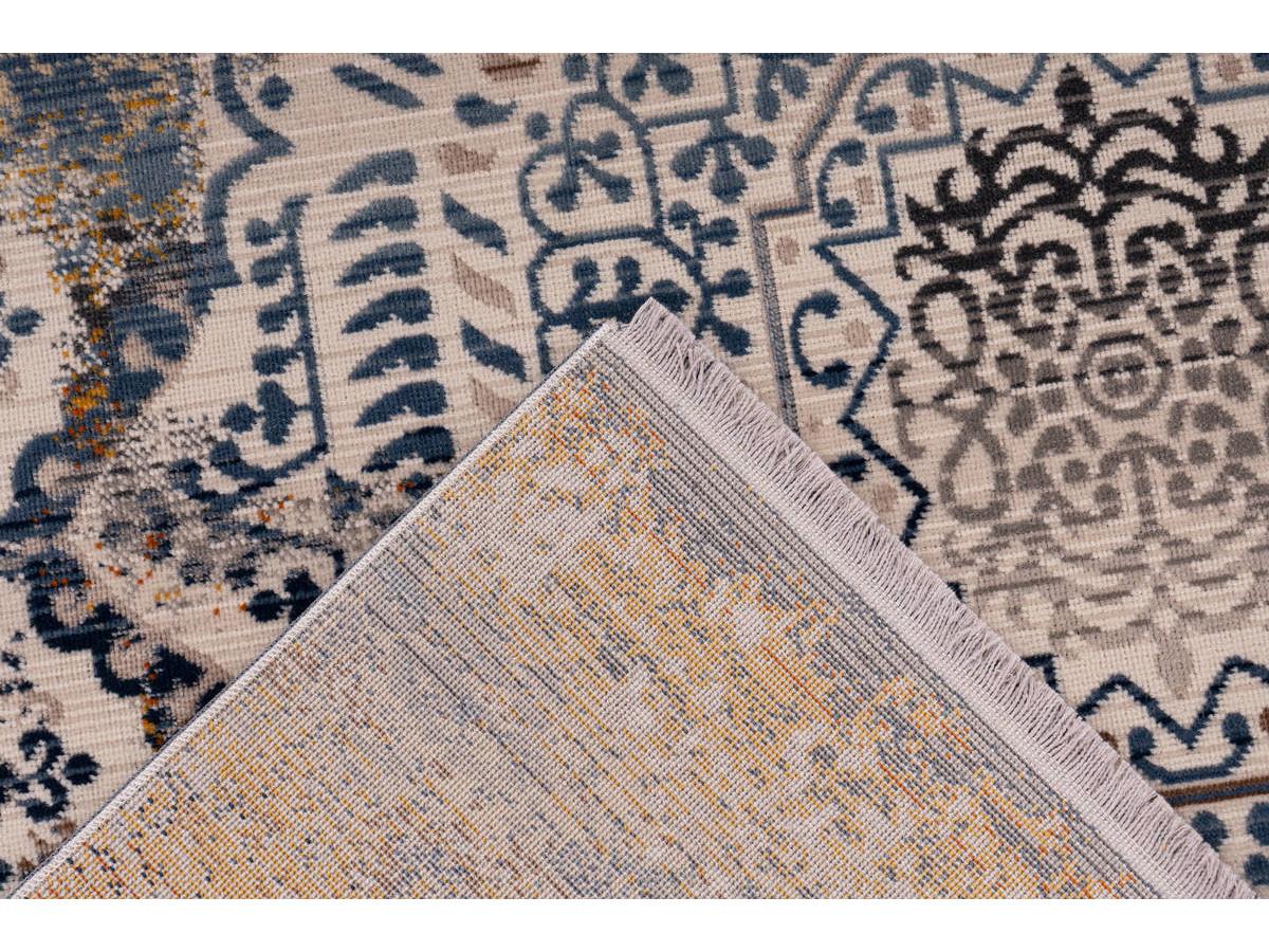 Tapis VIKI Multicolor / Bleu 120cm x 170cm5