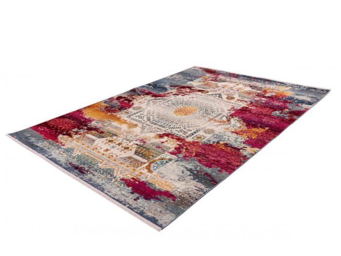 Tapis VIKI Multicolor / Rouge 120cm x 170cm