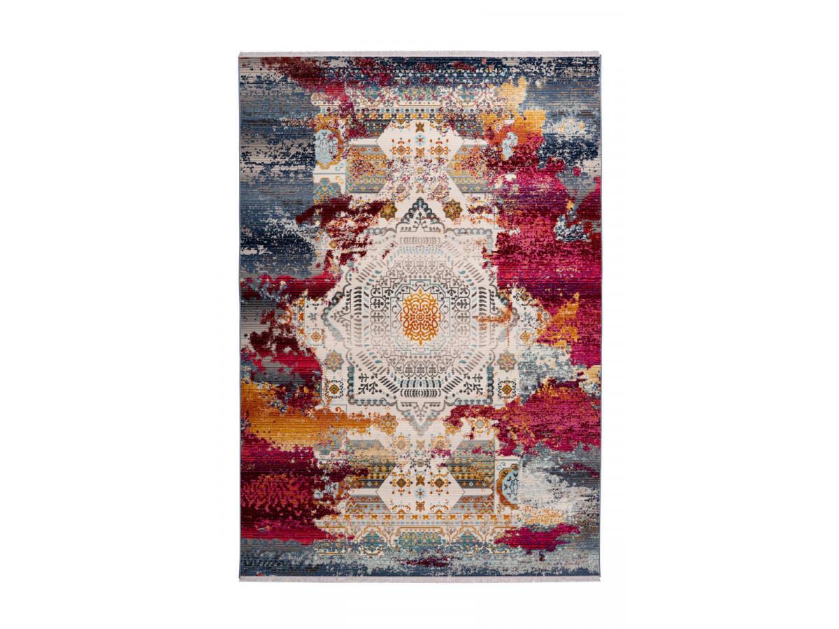 Tapis VIKI Multicolor / Rouge 120cm x 170cm3
