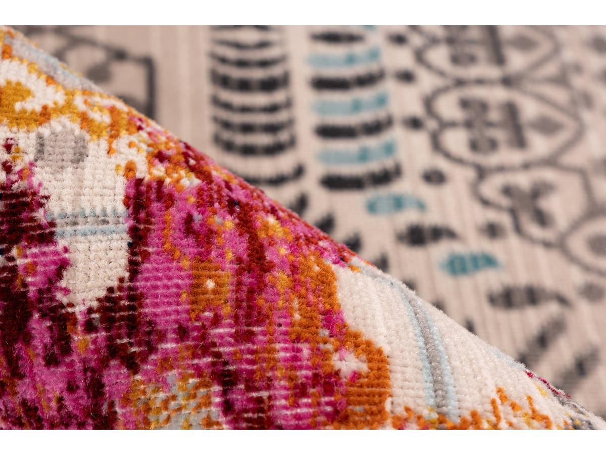 Tapis VIKI Multicolor / Rouge 120cm x 170cm4