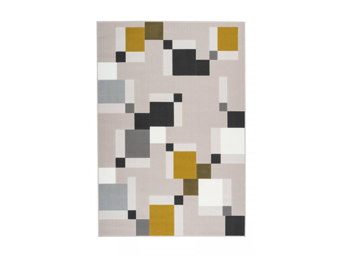 Tapis LUCIO Crème /Vert 80cm x 150cm3