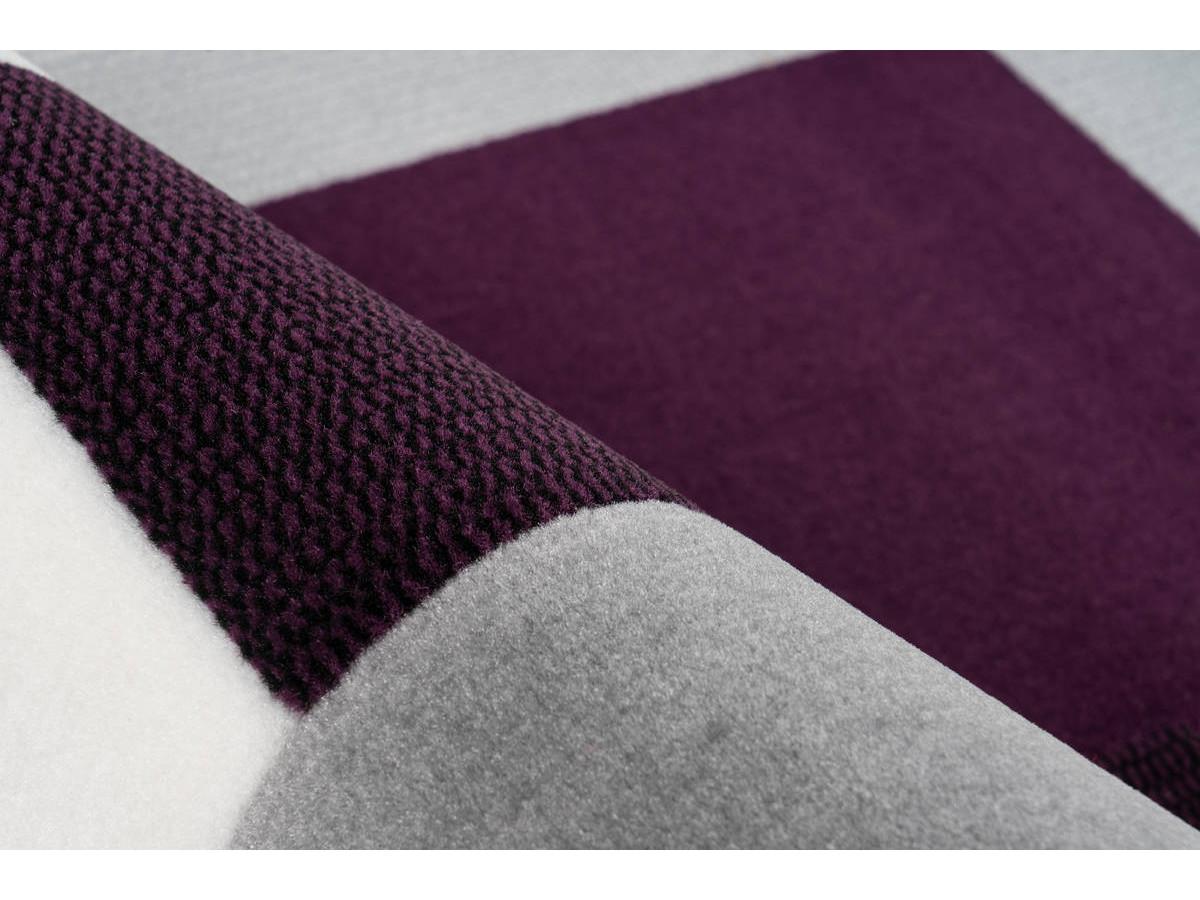 Tapis LUCIO Ivoire / Violet 120cm x 170cm4