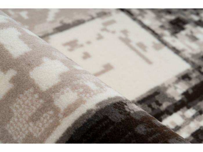 Tapis LUCIO Crème / Marron 160cm x 230cm4