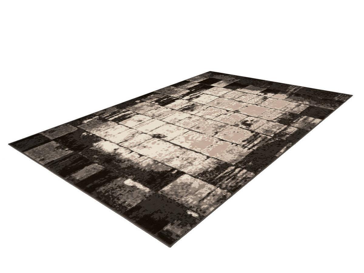 Tapis LUCIO Crème / Marron 80cm x 150cm