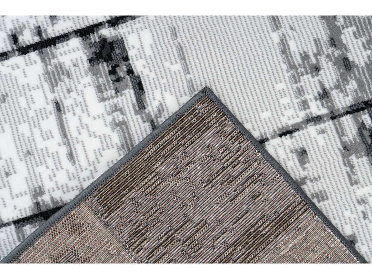 Tapis LUCIO Gris / Anthracite 120cm x 170cm5