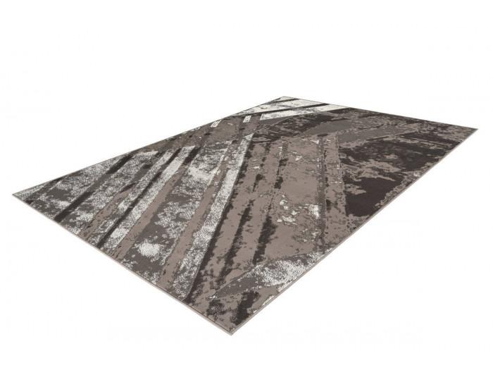 Tapis LUCIO Gris / Crème 160cm x 230cm