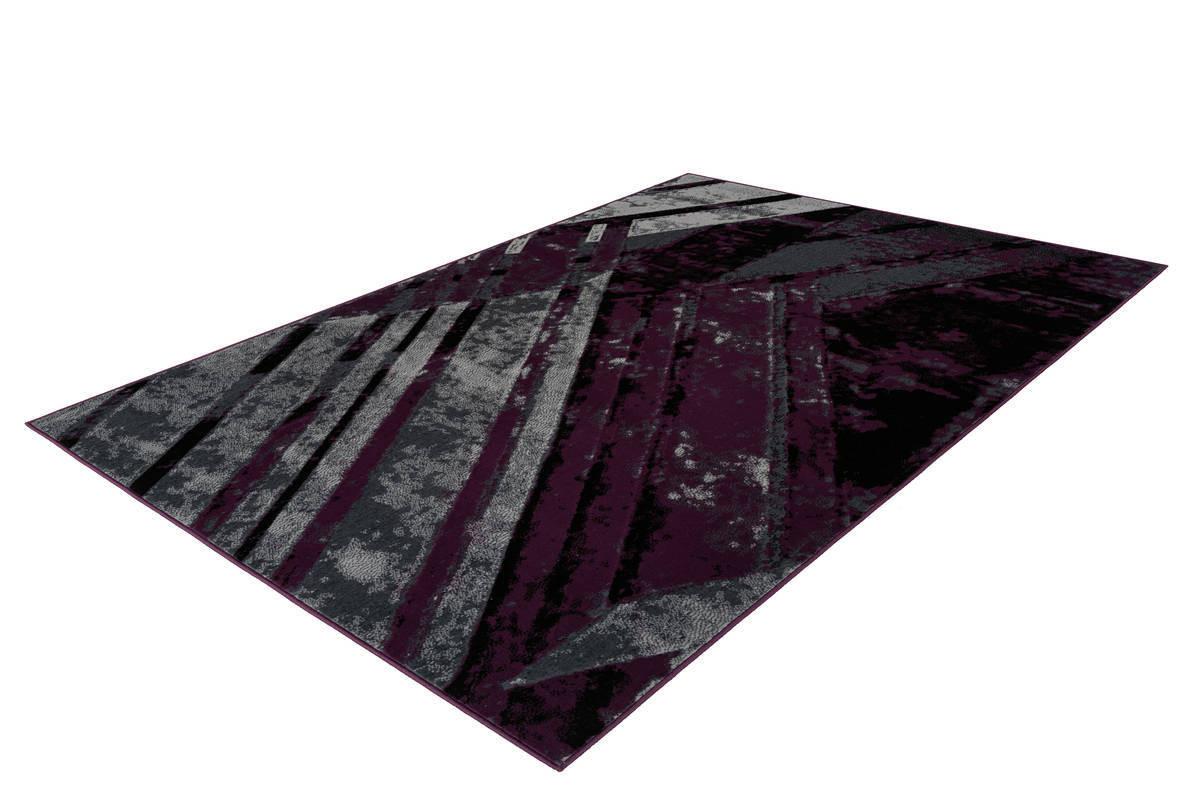 Tapis LUCIO Gris / Violet 160cm x 230cm2