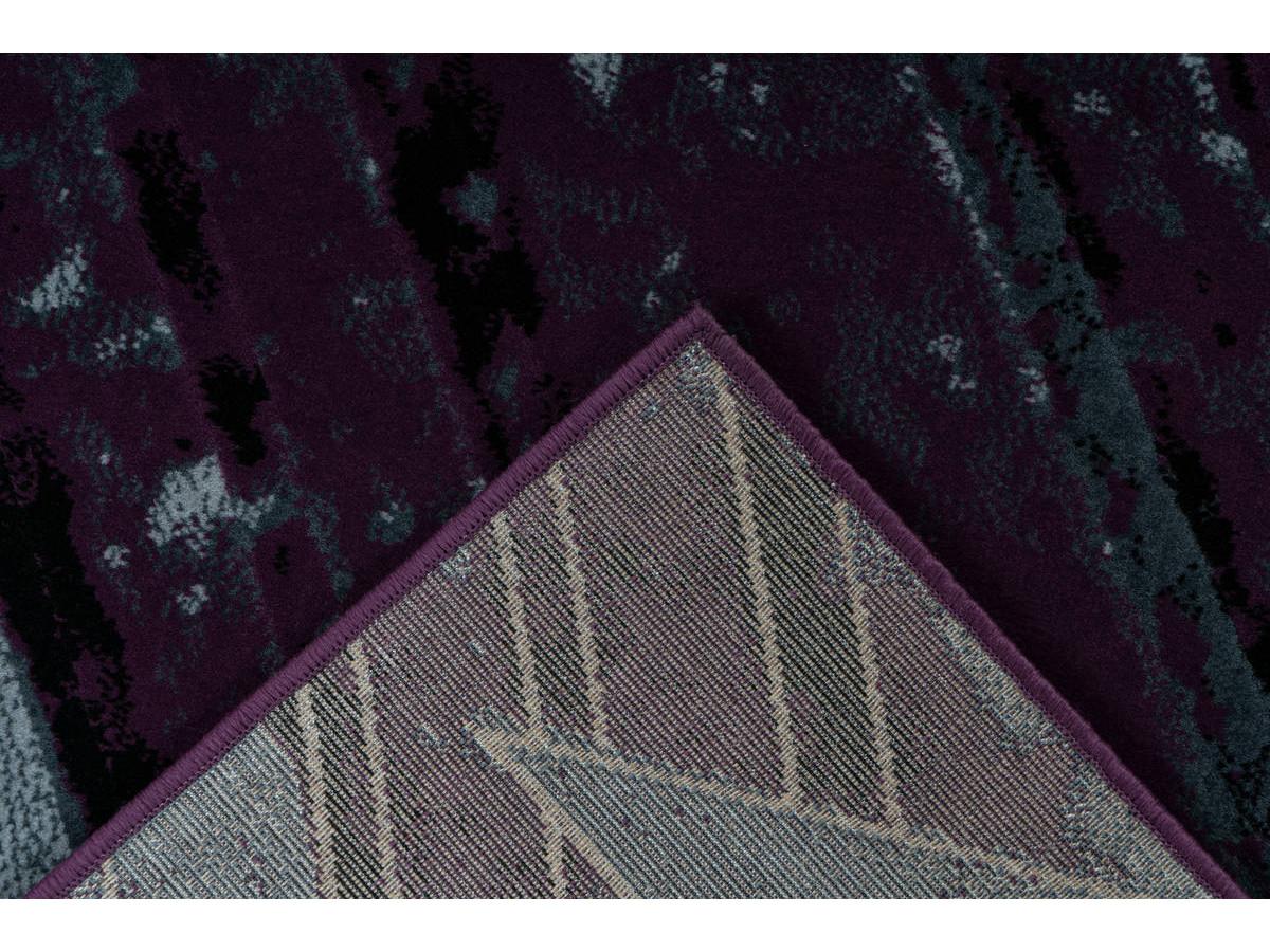 Tapis LUCIO Gris / Violet 160cm x 230cm5