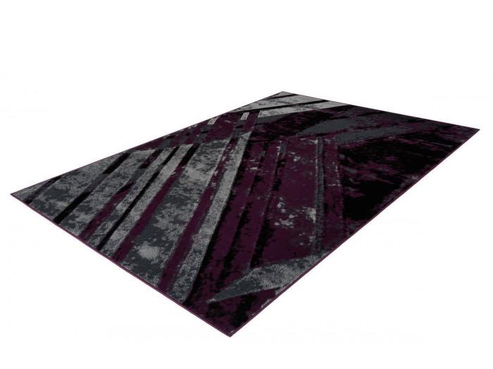 Tapis LUCIO Gris / Violet 80cm x 150cm