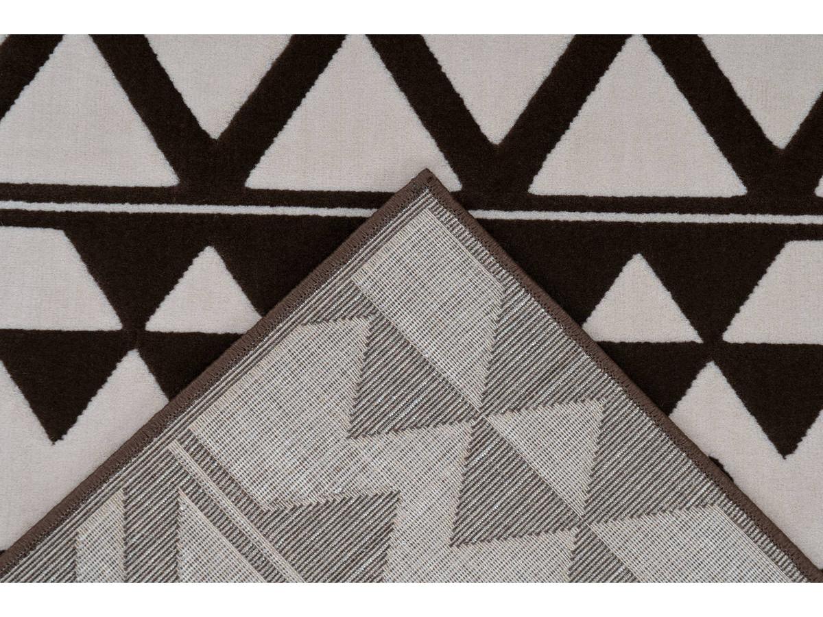 Tapis SAFI Marron / Crème 160cm x 230cm5