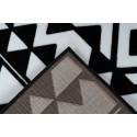 Tapis SAFI Noir / Blanc 160cm x 230cm5