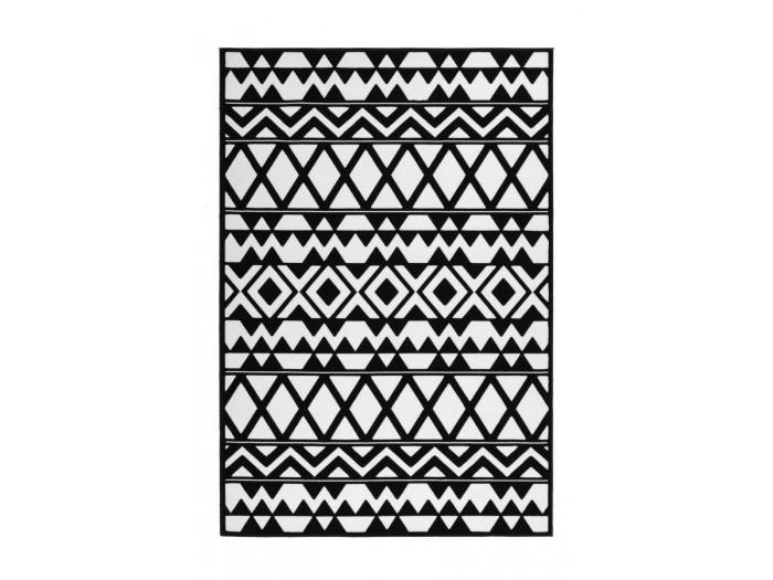 Tapis SAFI Noir / Blanc 200cm x 290cm3