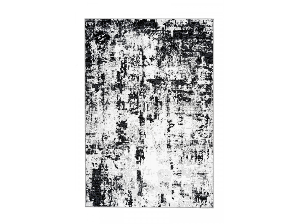 Tapis SANTOR Gris / Blanc 120cm x 170cm3