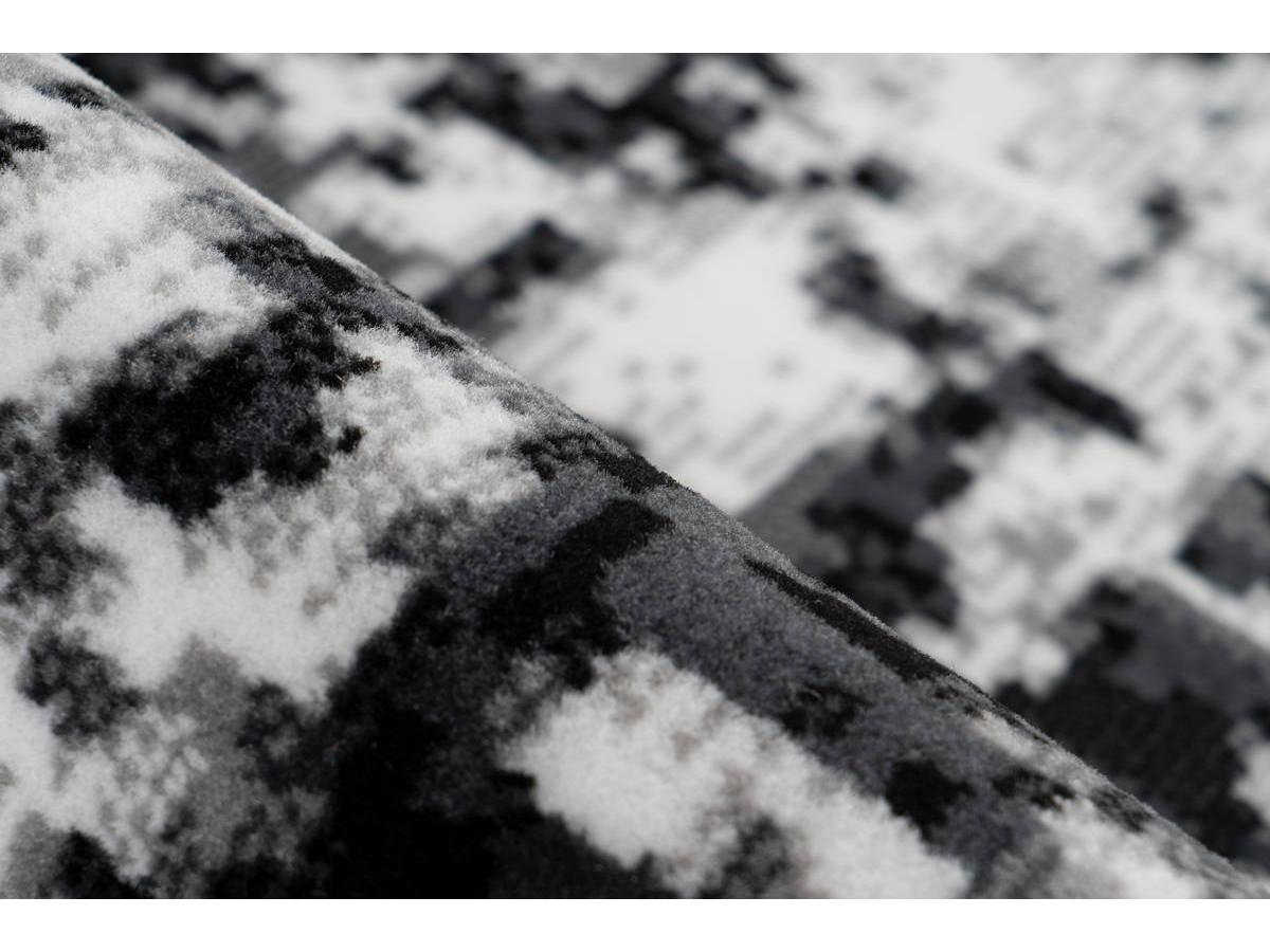 Tapis SANTOR Gris / Blanc 120cm x 170cm4
