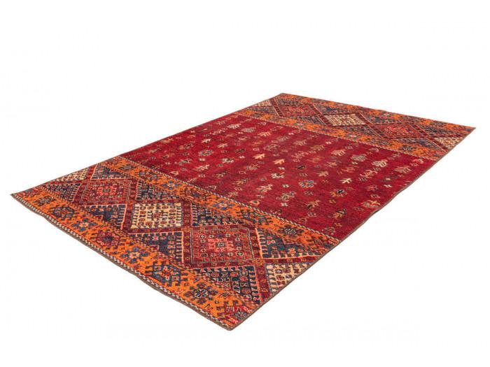 Tapis ASSA Multicolor / Rouge 80cm x 150cm