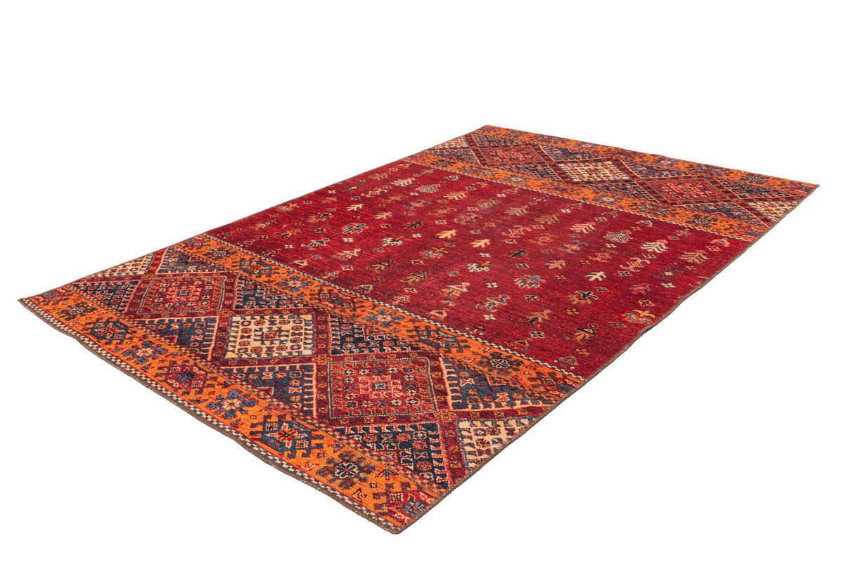Tapis ASSA Multicolor / Rouge 80cm x 150cm2