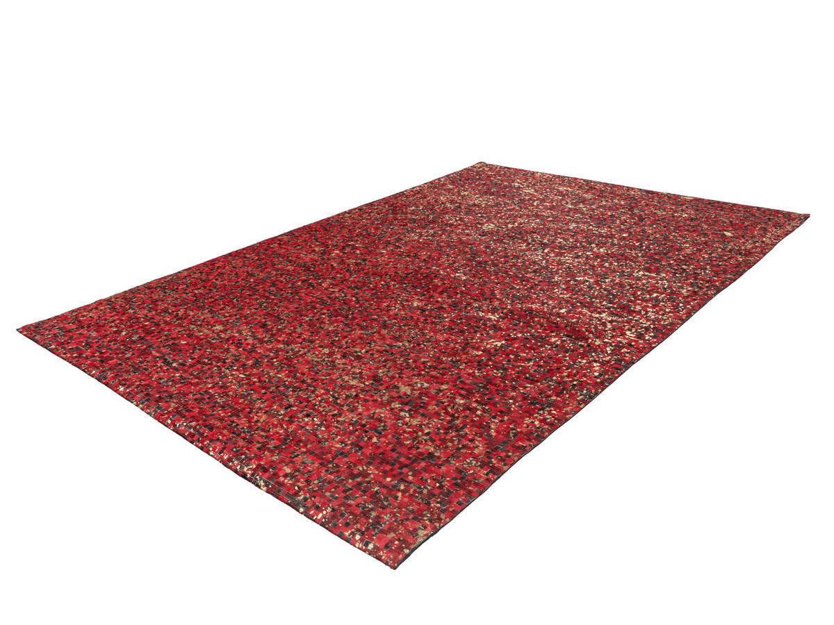 Tapis TORI Rouge / Doré 160cm x 230cm