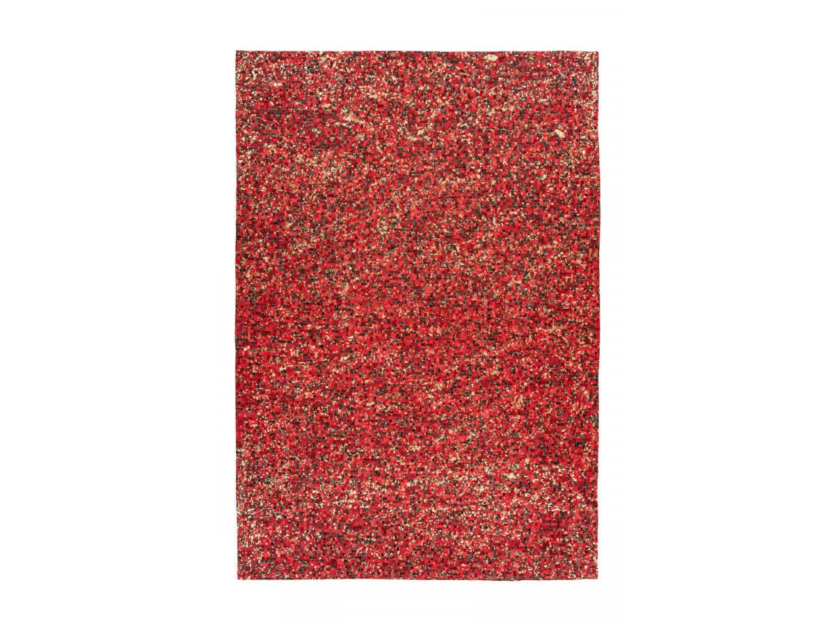 Tapis TORI Rouge / Doré 160cm x 230cm3