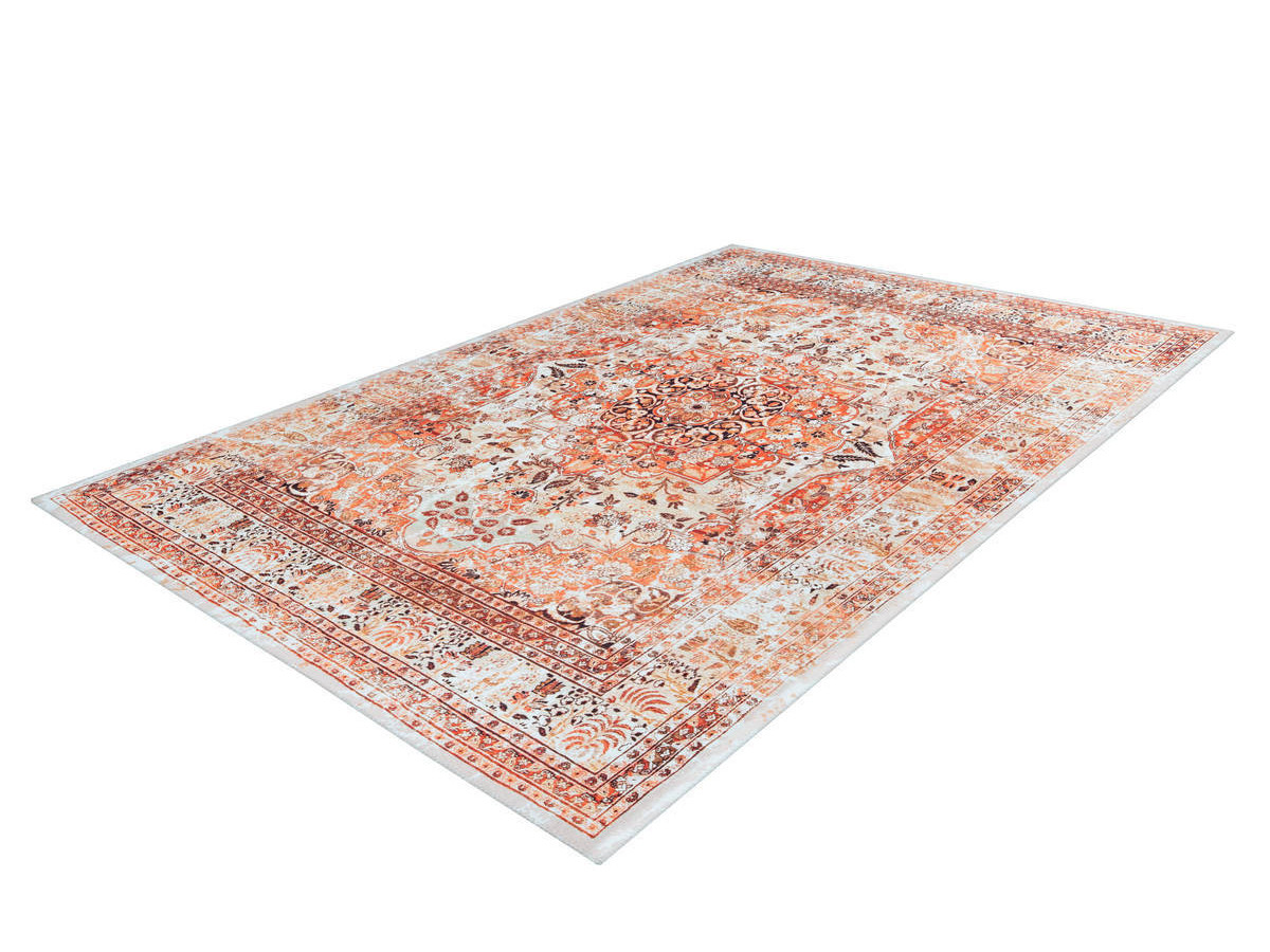 Tapis IDELIA Orange / Beige 200cm x 290cm