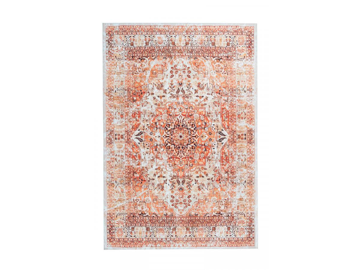 Tapis IDELIA Orange / Beige 200cm x 290cm3