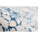 Tapis IDELIA Crème / Bleu 80cm x 150cm4