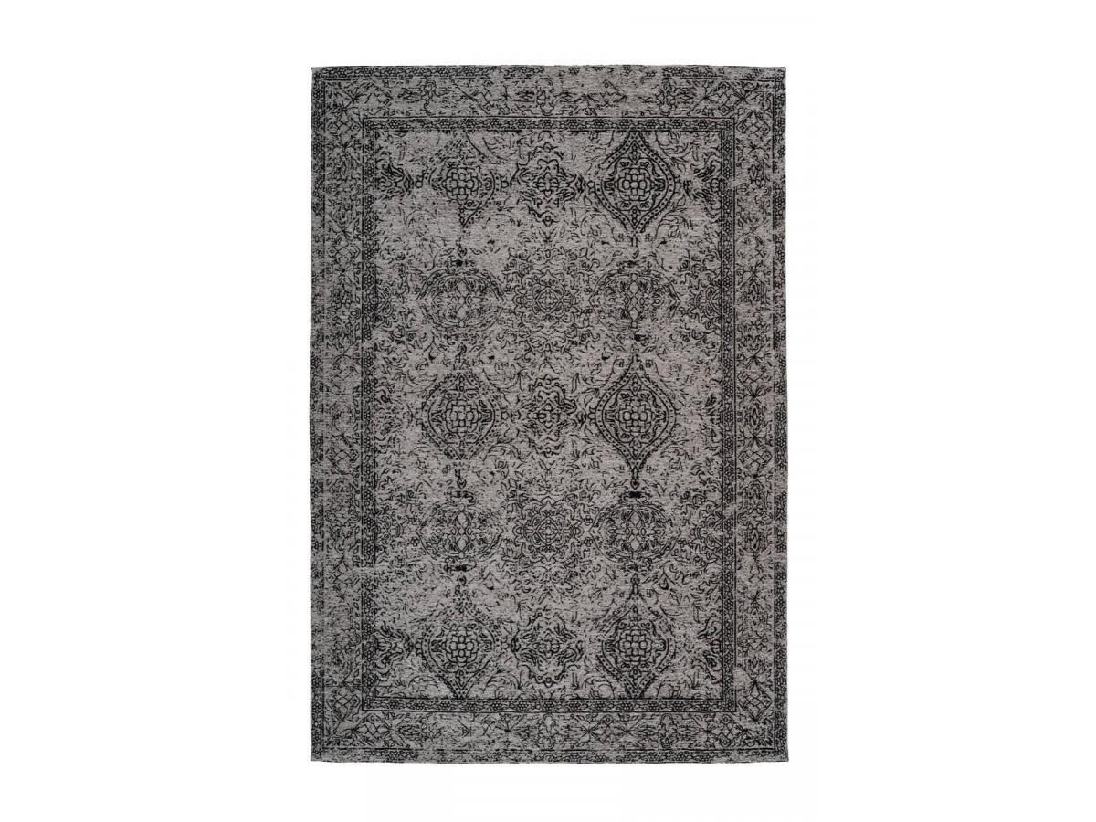 Tapis VINTO Gris / Noir 80cm x 150cm3