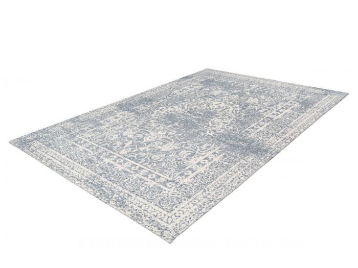 Tapis VINTO Crème / Bleu 80cm x 150cm