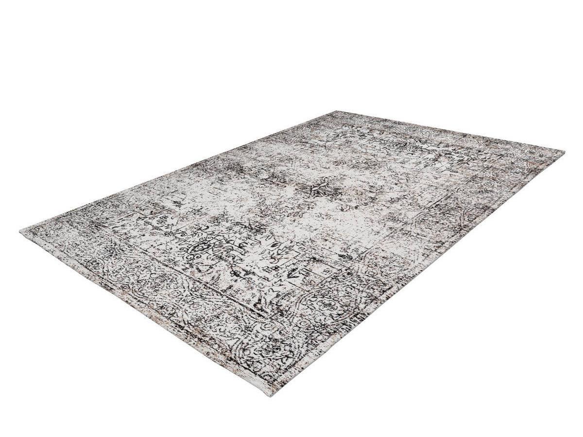 Tapis VINTO Anthracite / Crème 120cm x 170cm