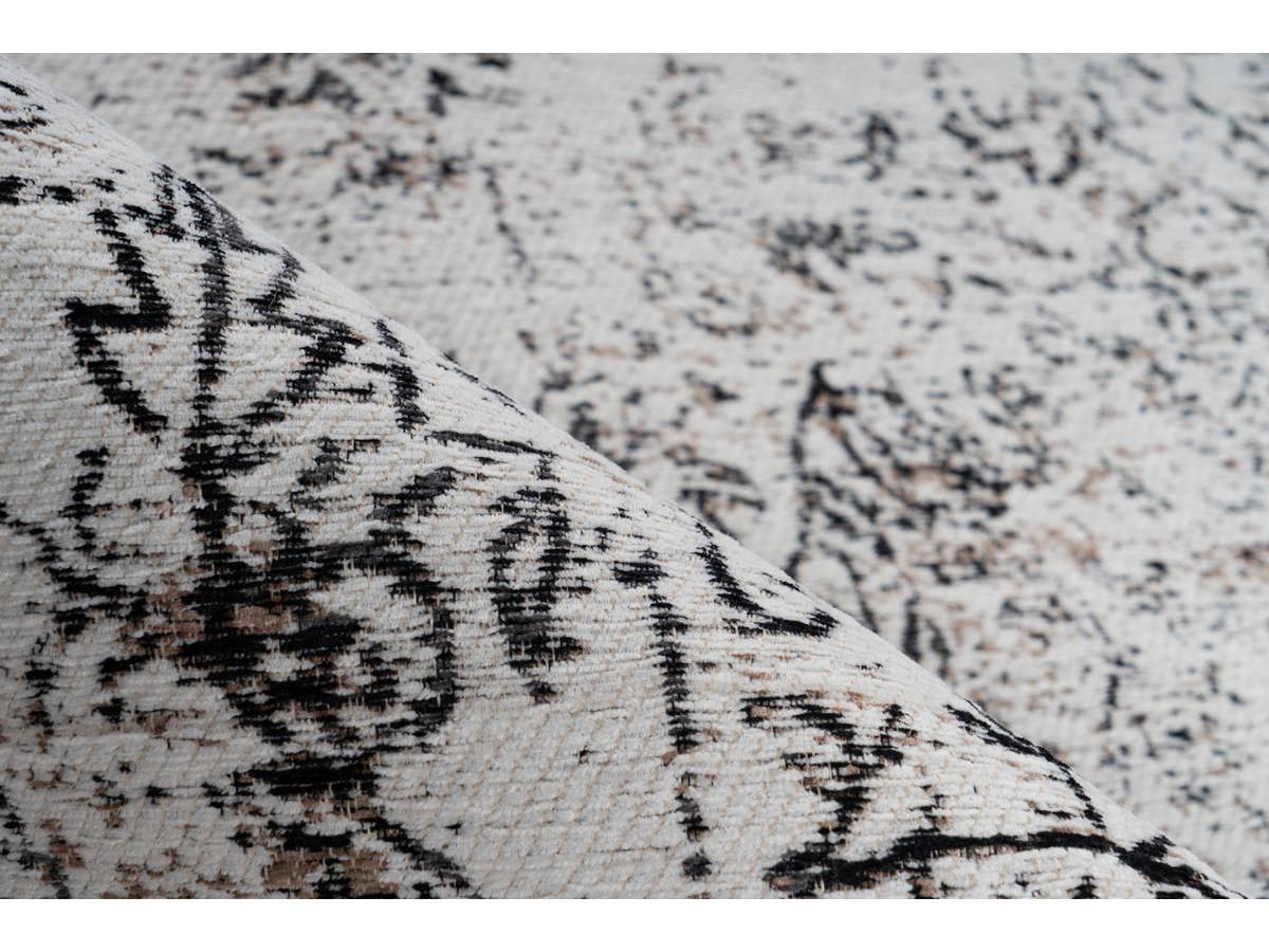 Tapis VINTO Anthracite / Crème 160cm x 230cm4