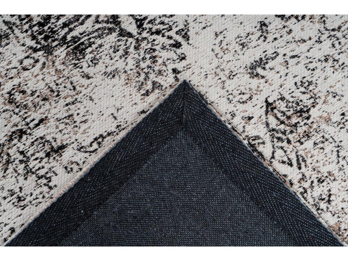 Tapis VINTO Anthracite / Crème 80cm x 150cm5